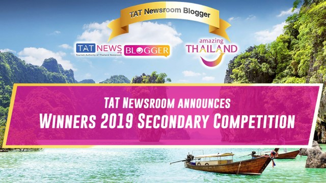 "Announcement of winners in the second TAT Newsroom ""Blogger Thailand"" competition"