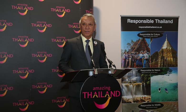 Minister of Tourism and Sports Speech at WTM 2019