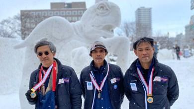 Thai teams wins International Snow Sculpture in Sapporo for third consecutive year