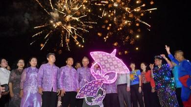 Thai tourism minister attended Satun International Kite Festival 2020