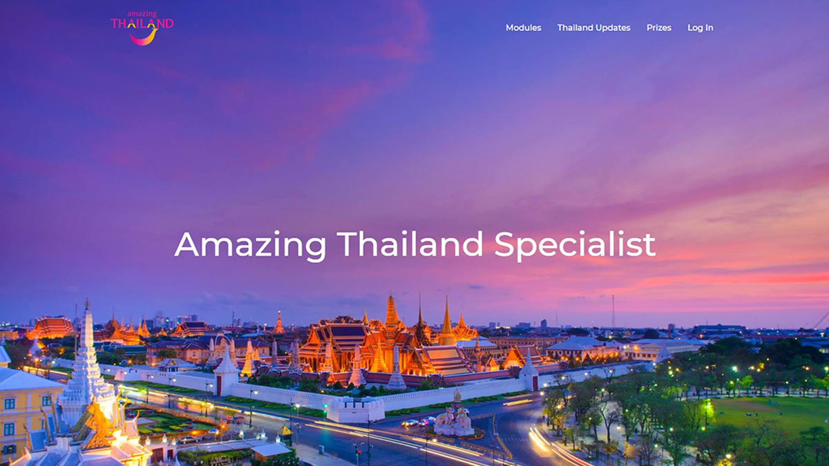 """TAT Sydney Office launches online training platform """"Amazing Thailand Specialist"""" for Oceania travel industry"""
