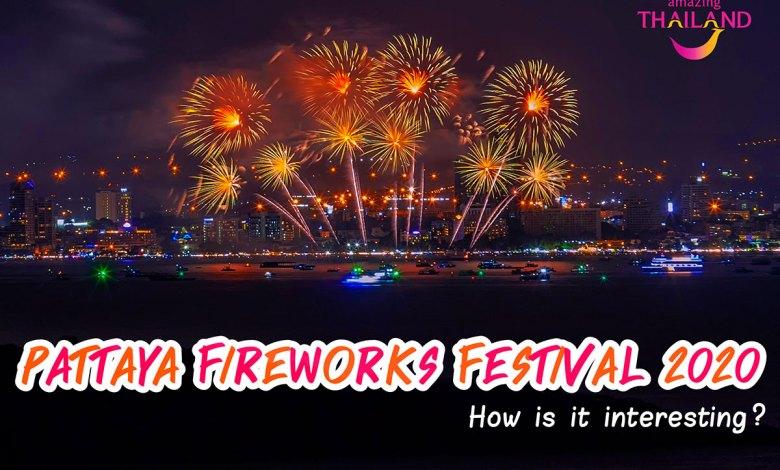 Pattaya Fireworks Festival 2020