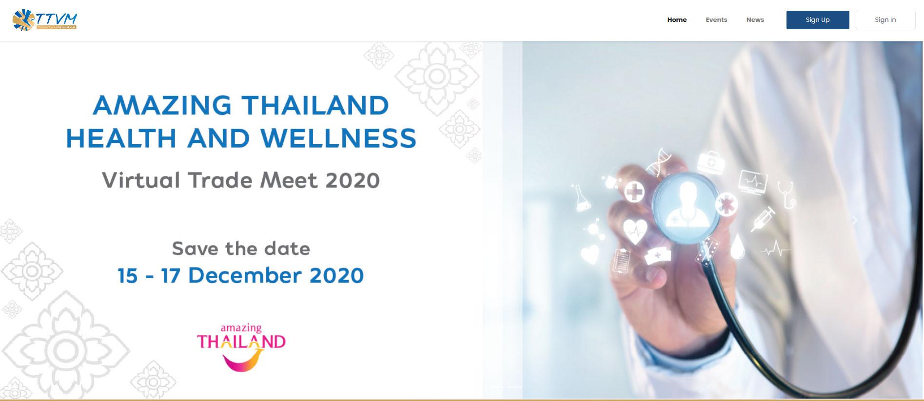 TAT successfully organises Amazing Thailand Health and Wellness 2020