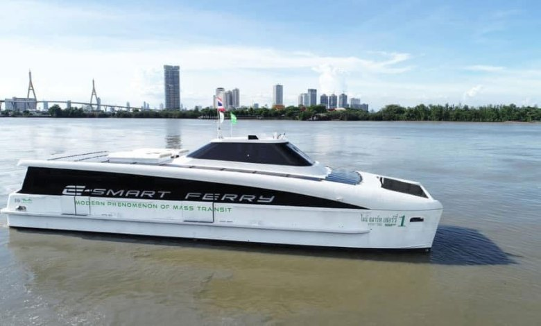 TAT welcomes new environment-friendly electric ferries on Bangkok's Chao Phraya River