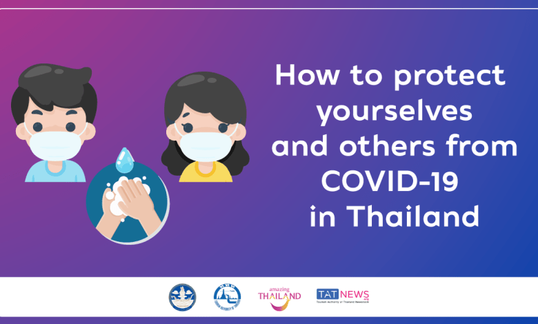 How to protect yourselves and others from COVID-19 in Thailand