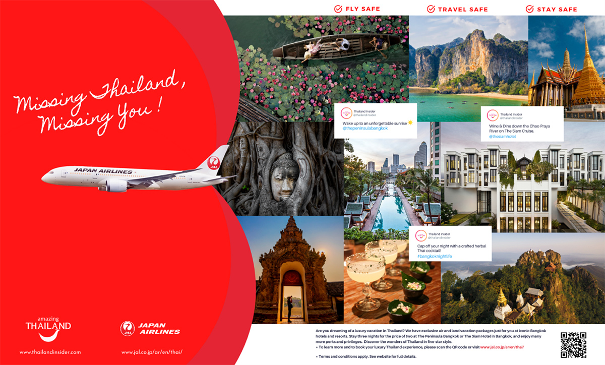 TAT Los Angeles launches marketing partnership with Japan Airlines