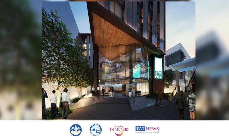 Cross Vibe Bangkok Udomsuk Station starts construction