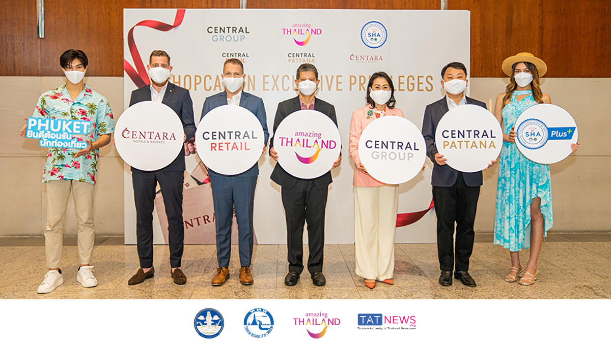 TAT supports Central Group's 'Shopcation Exclusive Privileges' to welcome back tourists to Phuket