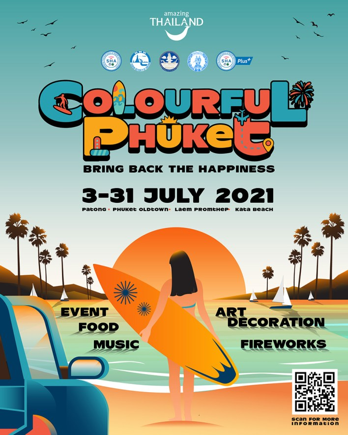 'Colourful Phuket' Festival features a full month of food, music, and street art