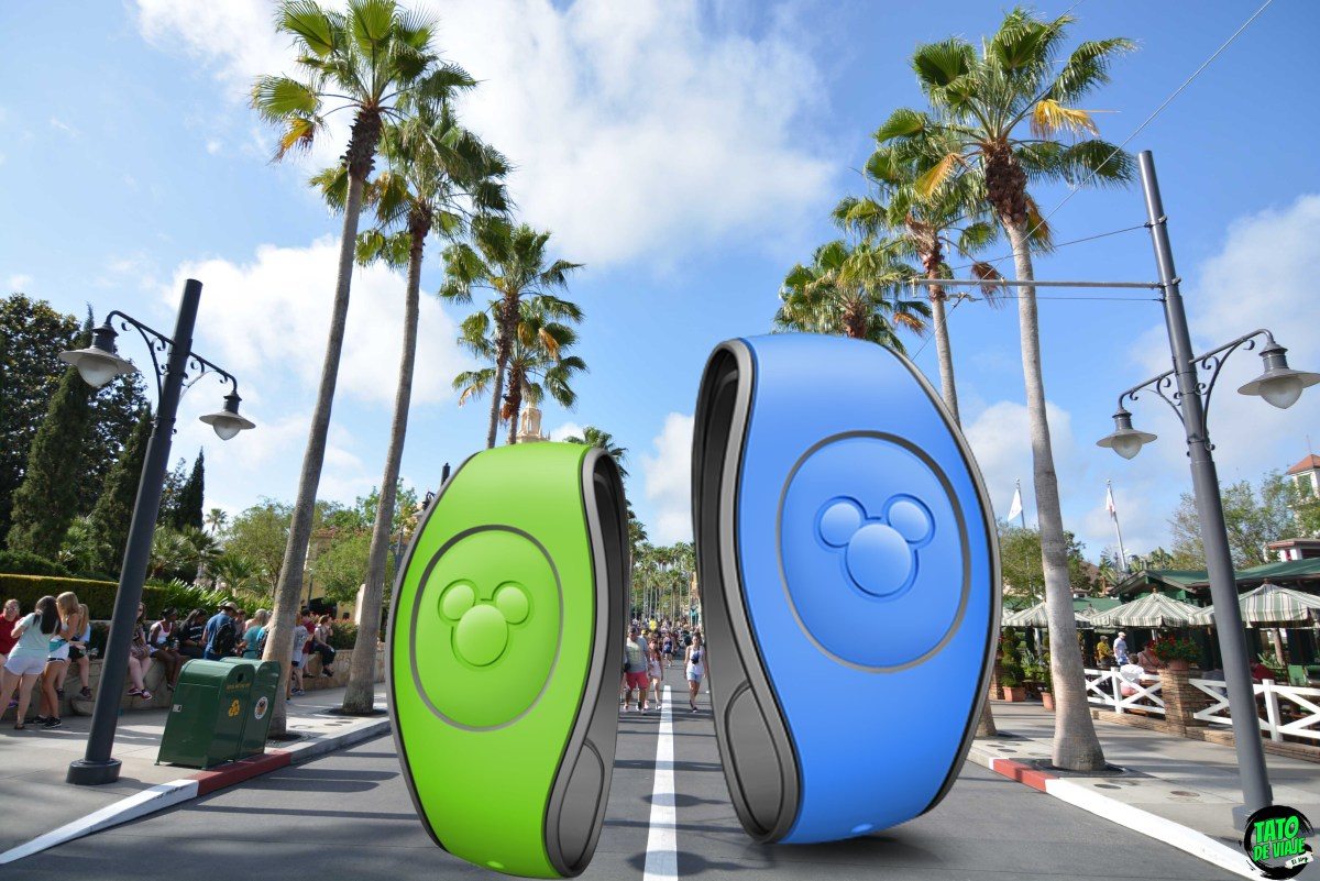 Como personalizar las Magic Bands