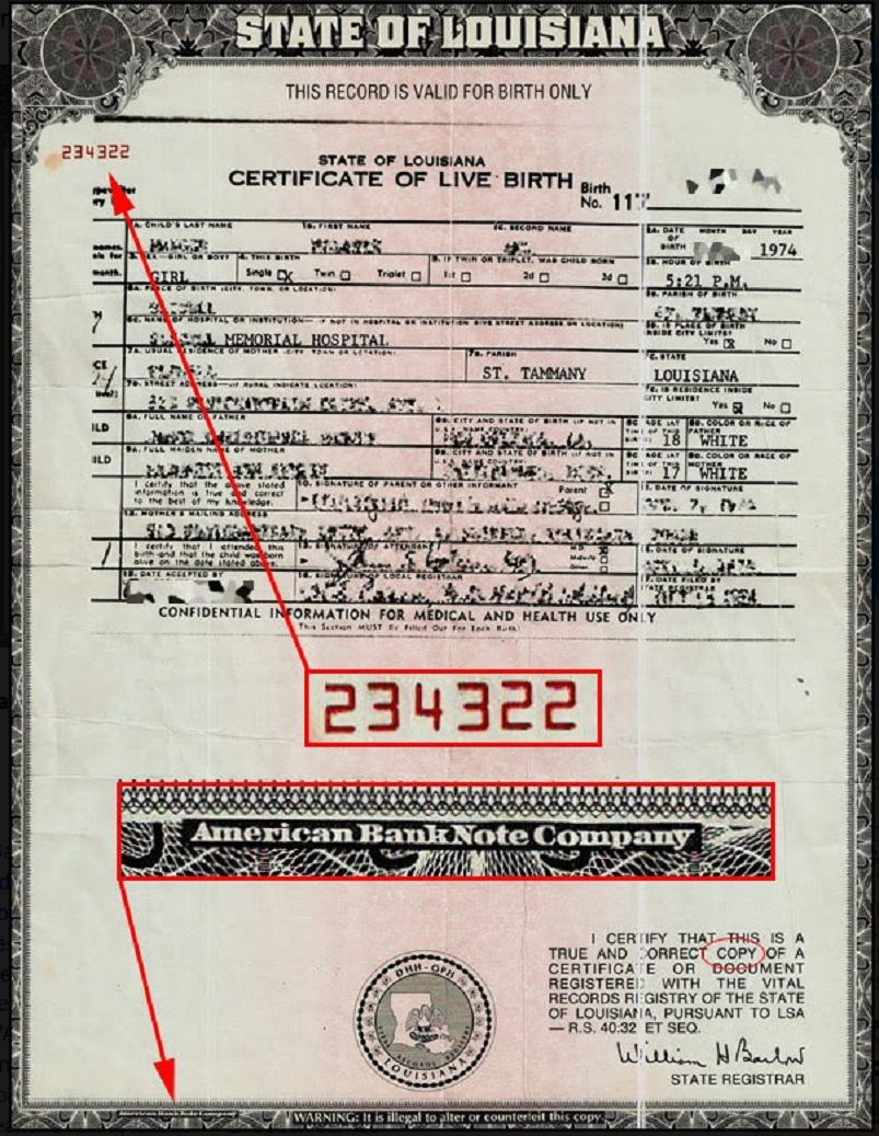 Your birth certificate was made into a bondits worth billions your birth certificate was made into a bondits worth billions 1betcityfo Images