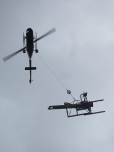 Helicopter drill move