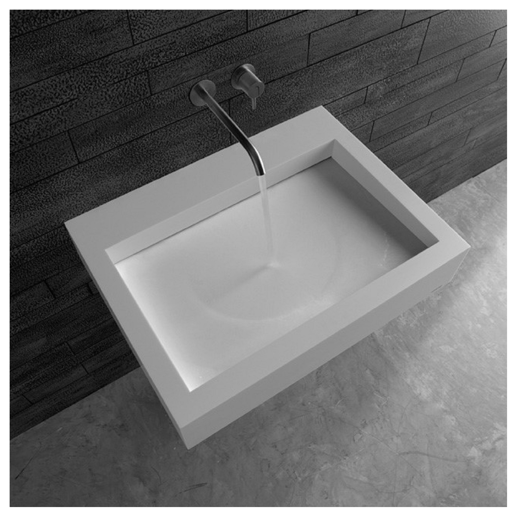 antonio lupi slot corian washbasin