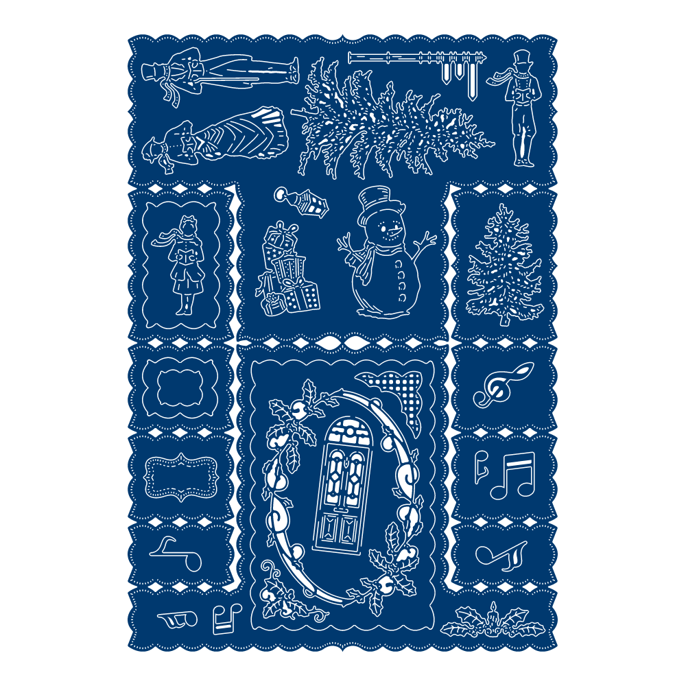 Christmas Stepper TLD0568 Tattered Lace
