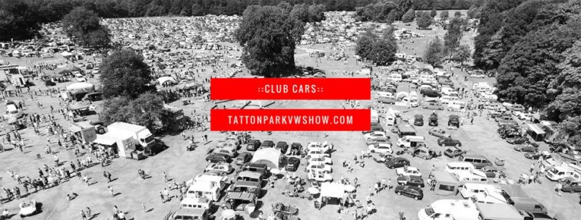 club cars tatton park VW show