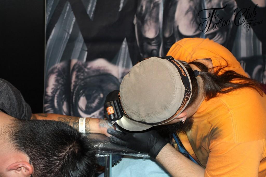 Tattoo Session : Leo VALVERDE (Espagne)