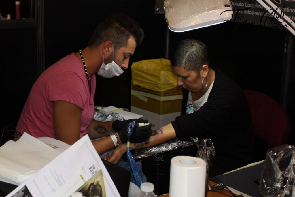 Tattoo Session : Real Tattoo (Italie)