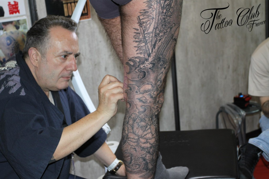 Tattoo Session : Bernard Soufflet (France)