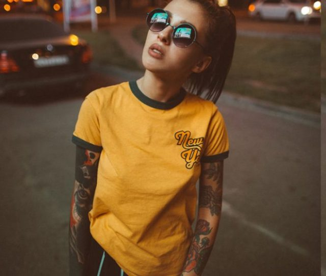 Cute Girls With Tattoos