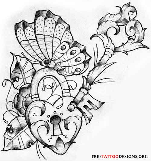 traditional heart coloring