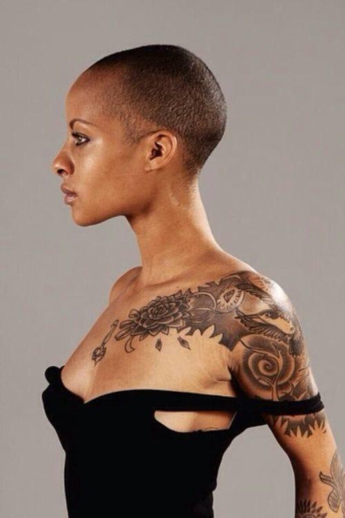 Image result for tattoos on black skin
