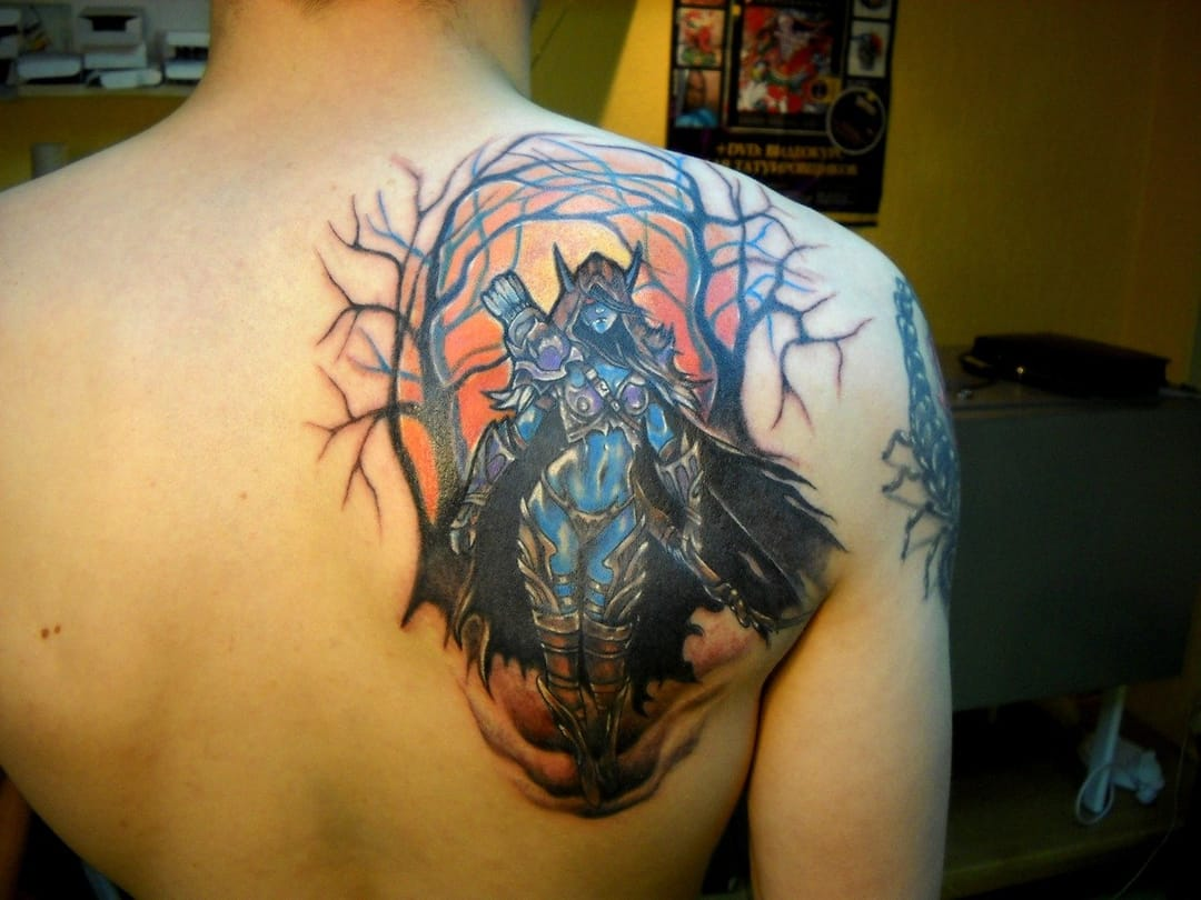 Dota 2 Fan Gets Team Alliance Tattoo Tattoodo