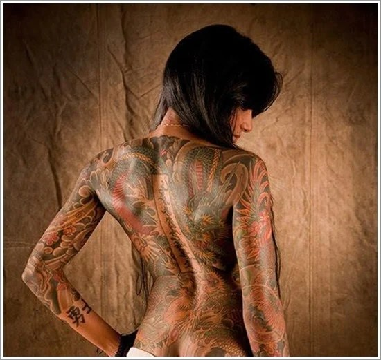 American Japanese Tattoos