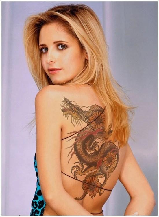 Dragon Tattoos For Women