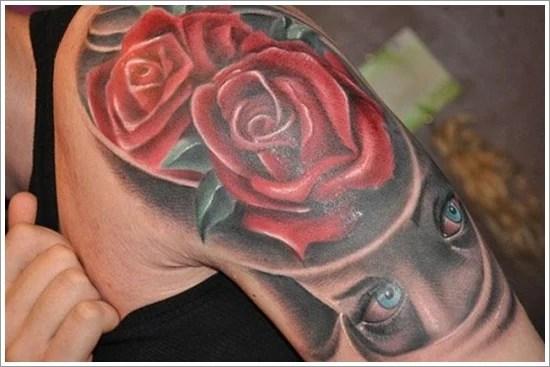 rose tattoo designs (19)