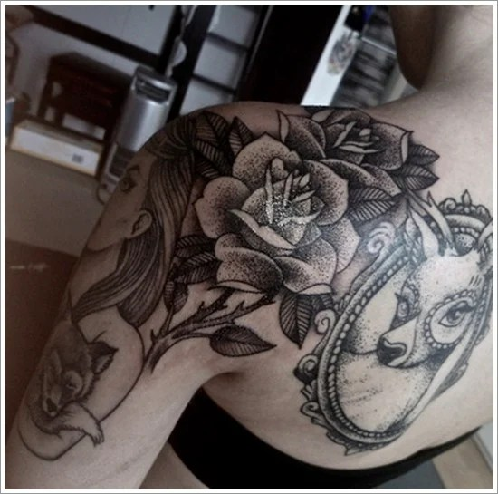 rose tattoo designs (26)