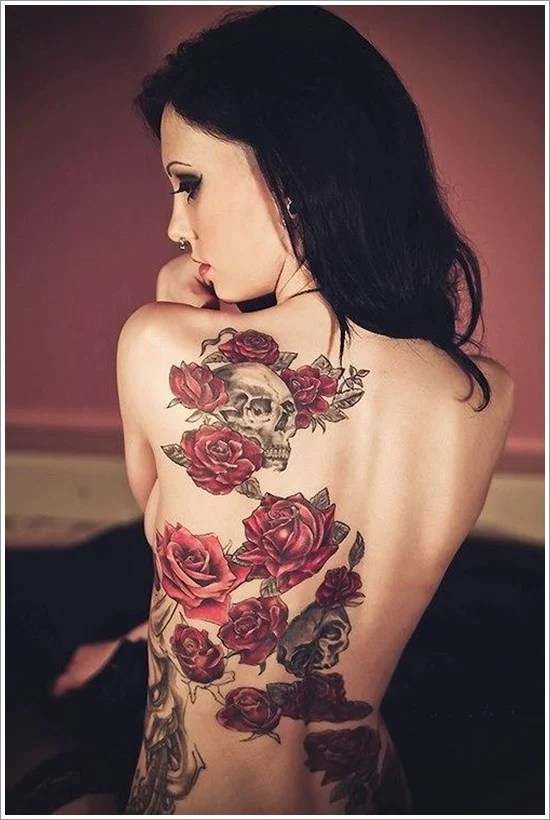 rose tattoo designs (33)