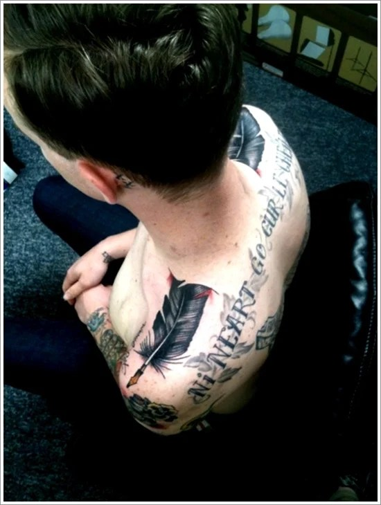 Feather Tattoo Designs (3)