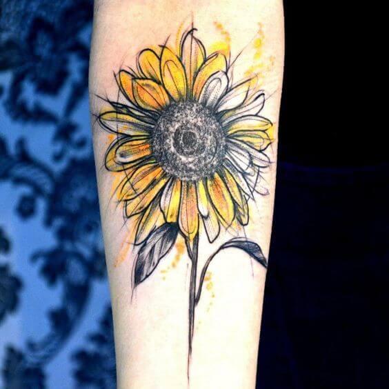 sunflower-tattoos-08