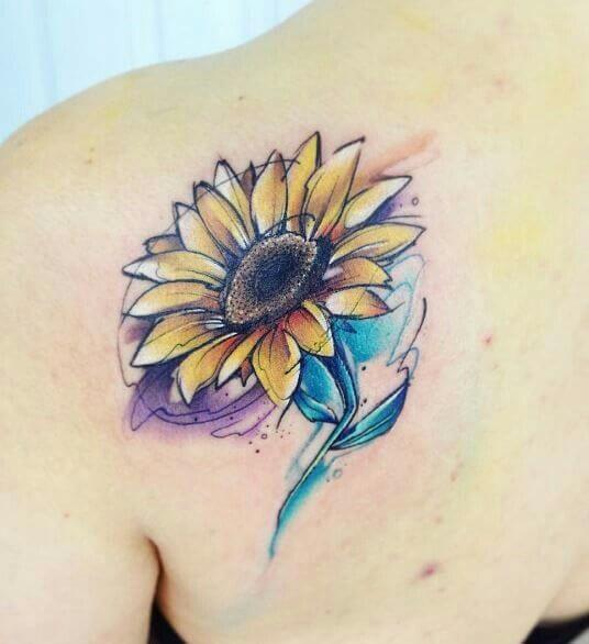sunflower-tattoos-47
