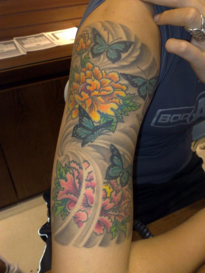 Tattoo Background Shading Designs
