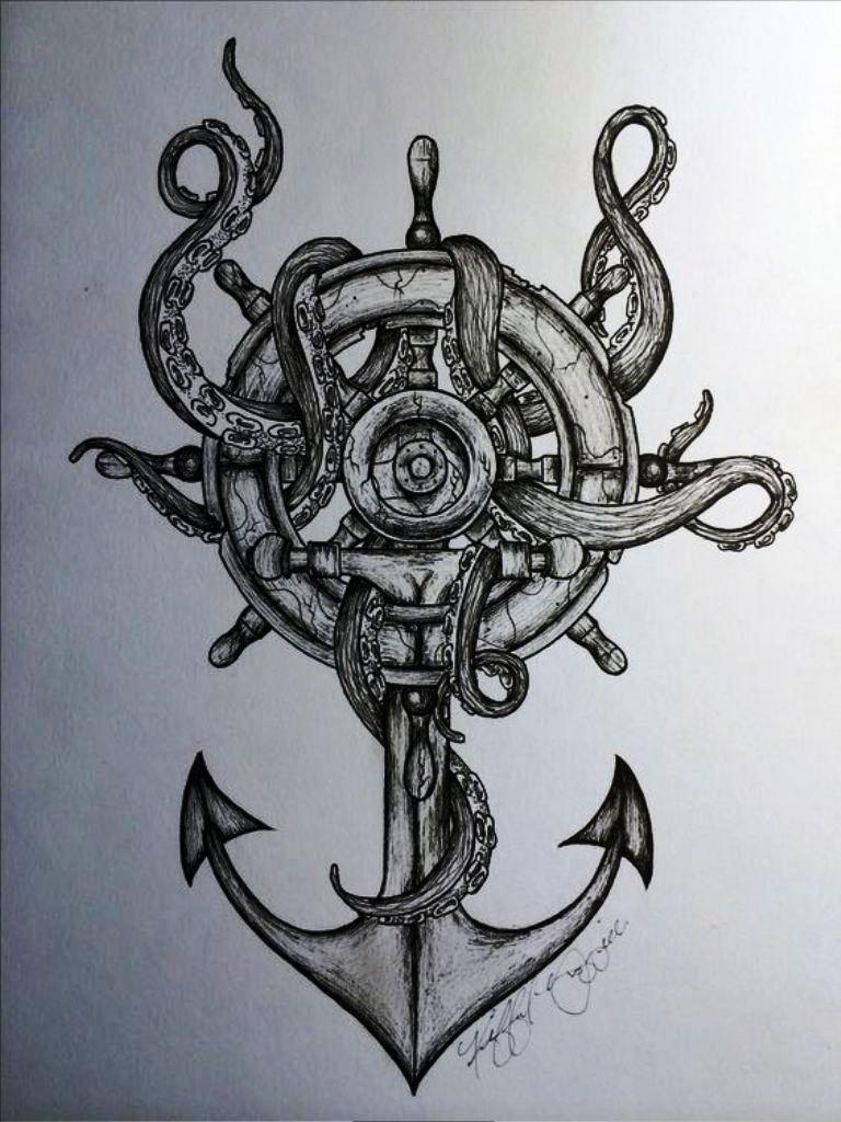 TattooMix Dövmecim çapa anchor dövmeleri (7)