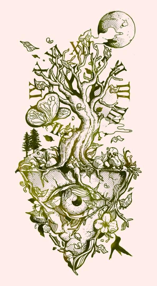 TattooMix Dövmecim ağaç tree dövmeleri (10)
