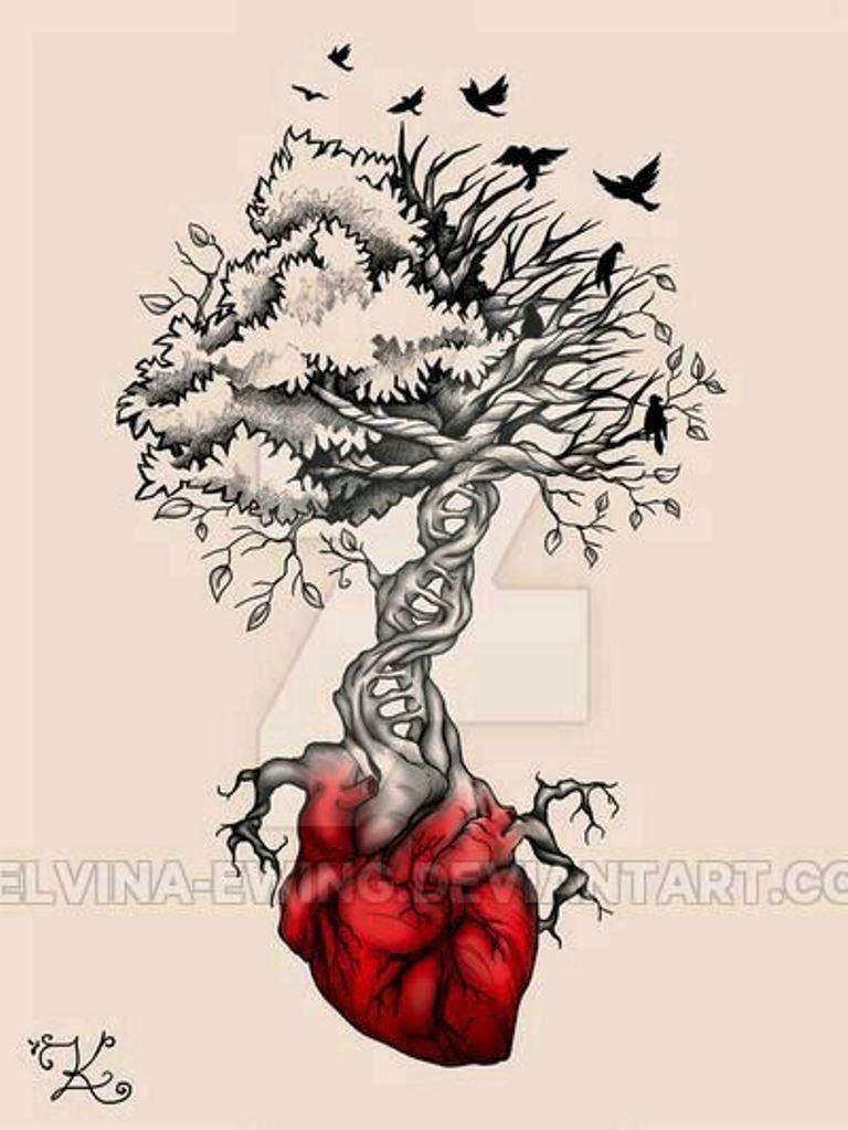 TattooMix Dövmecim ağaç tree dövmeleri (8)
