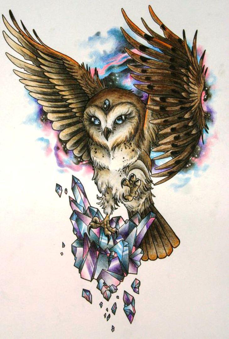 TattooMix Dövmecim baykuş owl dövmeleri (1)