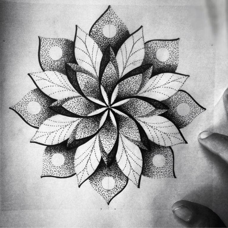 TattooMix Dövmecim dotwork noktalı dövmeler (4)