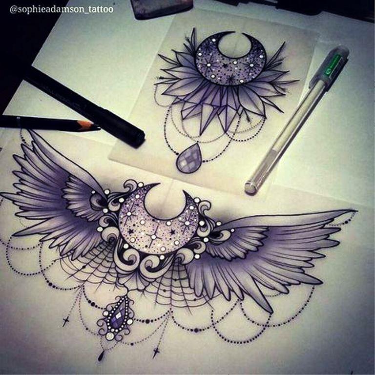 TattooMix Dövmecim göğüs dövmeleri (5)