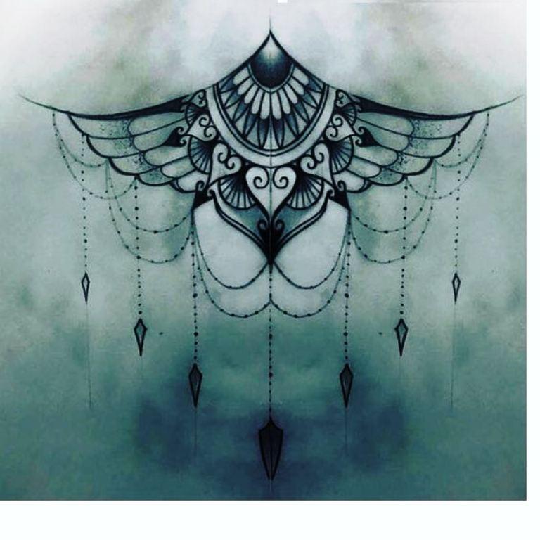 TattooMix Dövmecim göğüs dövmeleri (6)