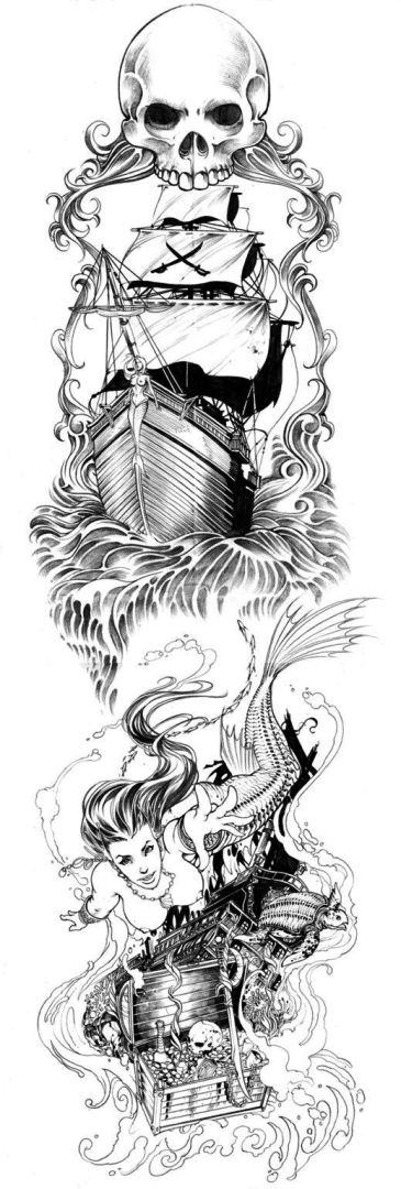 TattooMix Dövmecim gemi dövmeleri (2)