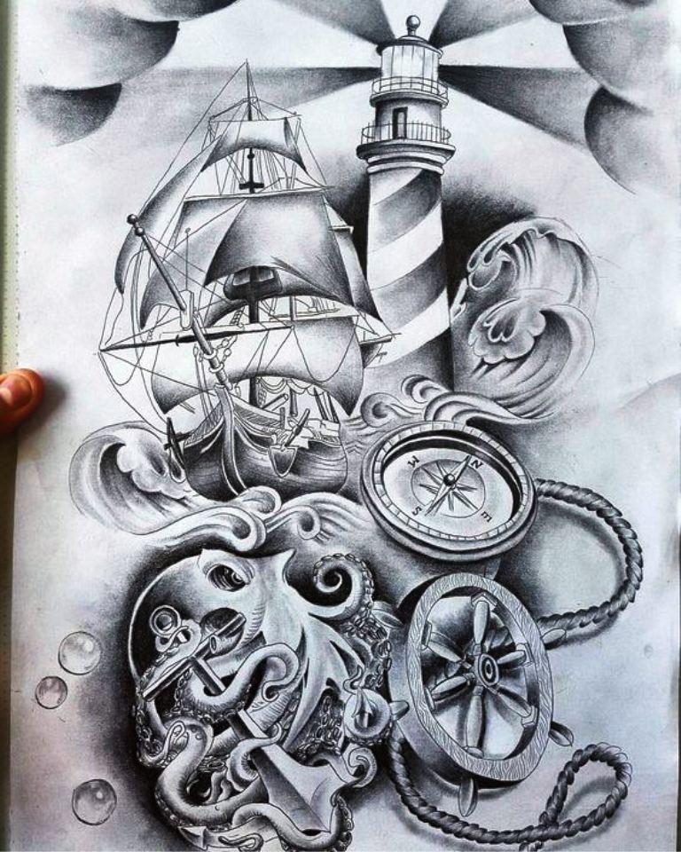 TattooMix Dövmecim gemi dövmeleri (3)