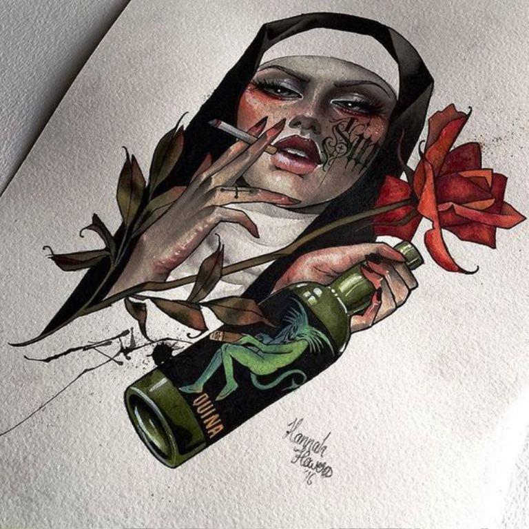 TattooMix Dövmecim kadın dövmeleri (10)