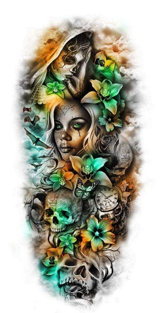 TattooMix Dövmecim kadın dövmeleri (5)