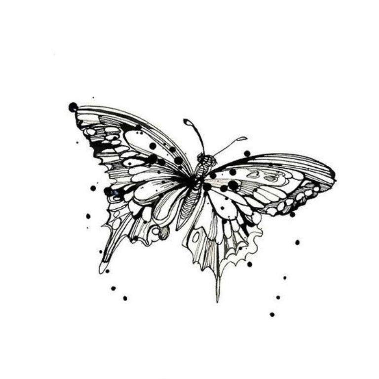 TattooMix Dövmecim kelebek dövmeleri (11)