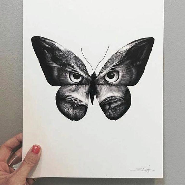 TattooMix Dövmecim kelebek dövmeleri (13)