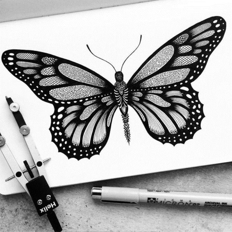 TattooMix Dövmecim kelebek dövmeleri (6)