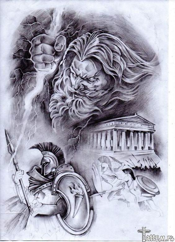 TattooMix Dövmecim mitolojik dövmeler (2)